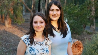 Ashleigh Streeter (left) and Caitlin Figueredo Girls Takeover Parliament co-founders have been named on  Forbes 30 Under 30 Asia 2018 list.