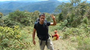Ali Ammar, who stole an Australian flag and burnt it, walked the Kokoda Track with the ABC program Compass.