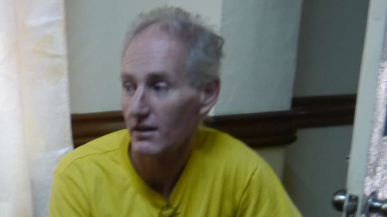 Peter Scully, who was arrested and jailed in the Philippines.