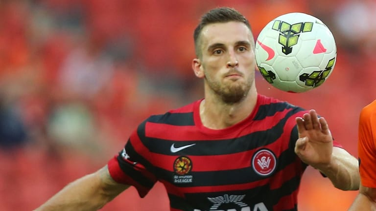 China bound: Socceroos defender Matthew Spiranovic has completed a million-dollar transfer from the Western Sydney Wanderers to Chinese club Hangzhou Greentown.
