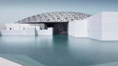 The new Louvre Abu Dhabi.