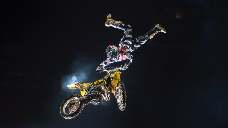 Nitro Circus superstar Travis Pastrana.