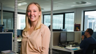 Engineering student Emily Campbell has welcomed a push to attract more women into the historically male-dominated profession.