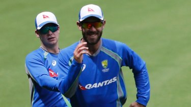 Steve Smith and Glenn Maxwell are set to catch up