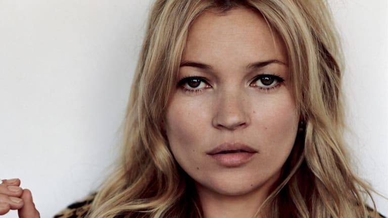 Kate Moss has become the queen of multi-tasking beauty, as shown at her 2011 wedding.