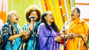 The Sai Anantam Singers perform the music of Alice Coltrane Turiyasangitananda.