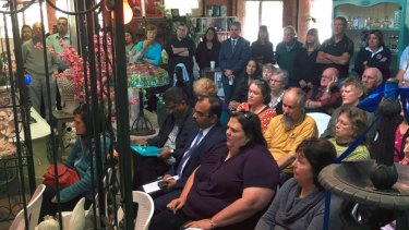 A community meeting on Monday showcased the immense community support to protect the 10 gum trees in the firing line.
