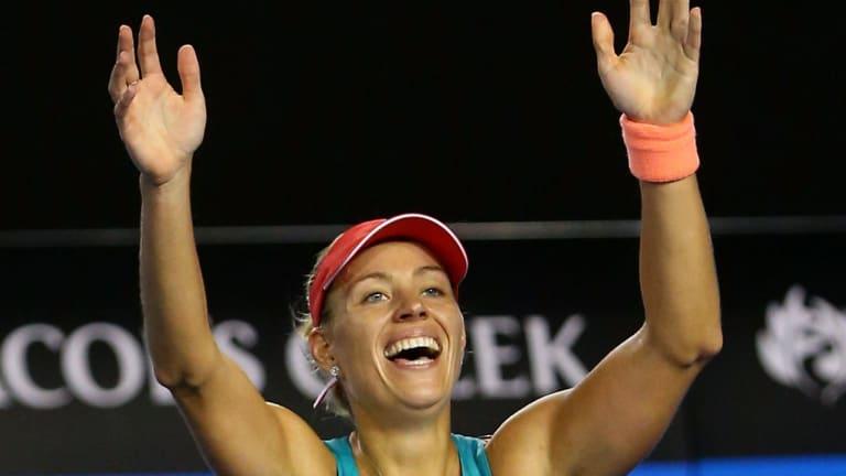 Angelique Kerber wins the 2016 Australian Open.