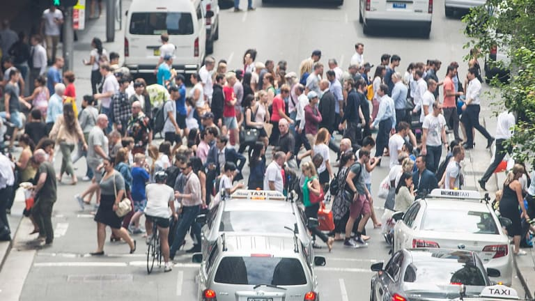 Pedestrians are second-class citizens in NSW.
