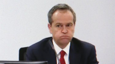 Making bank: While Shorten faces questions on his credibility, barristers and solicitors are raking in about $25 million for their work on the Royal Commission into Trade Union Corruption.