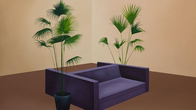 Palm Down by Stephanie Wilson  in Thoroughly Modern.