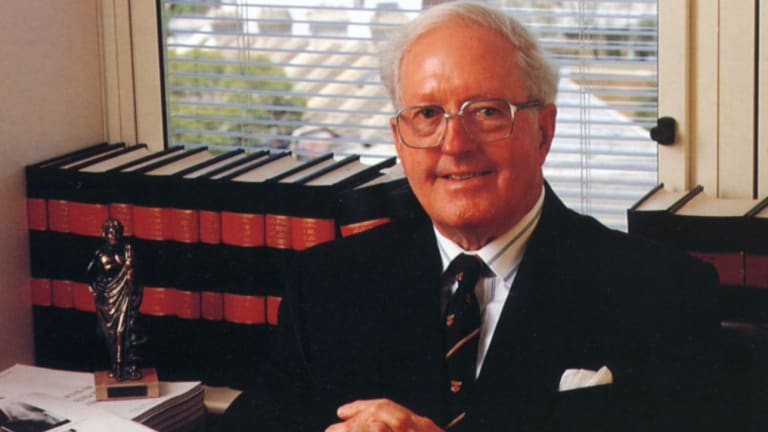 Dr John Roarty, highly regarded surgeon.