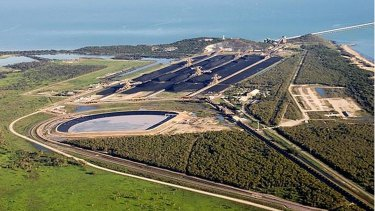 The site of Adani's Carmichael coal mine project.