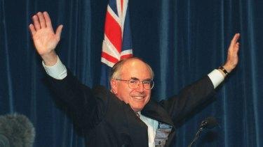 John Howard reacts to Paul Keating's Redfern Park speech.
