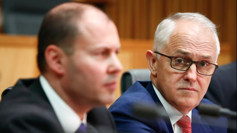 Energy challenges in focus: Energy Minister Josh Frydenberg and Prime Minister Malcolm Turnbull.