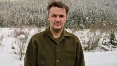 No stranger to irony: Phil Elverum.