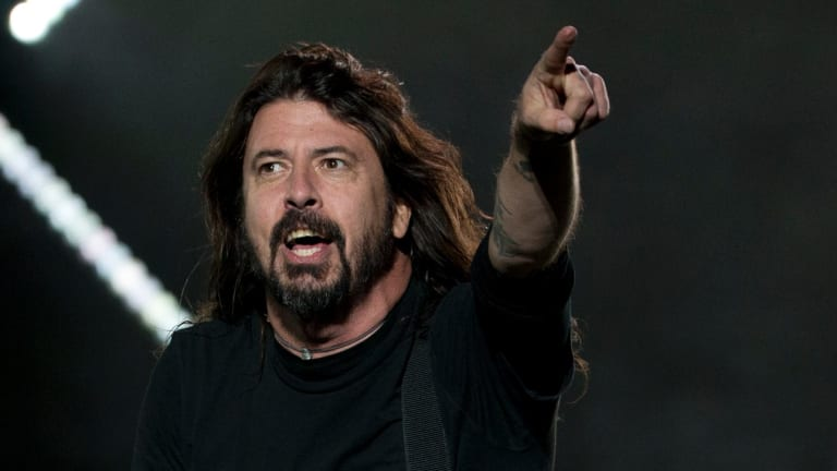 Dave Grohl of the Foo Fighters performs at the Corona Capital music festival in Mexico City last year.