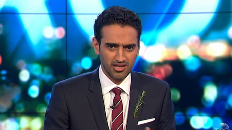 Mover and shaker ... <i>The Project</i>'s Waleed Aly is up for a Gold Logie.