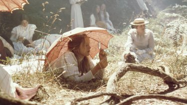 The idyllic meets the horrific in Picnic at Hanging Rock (1976).