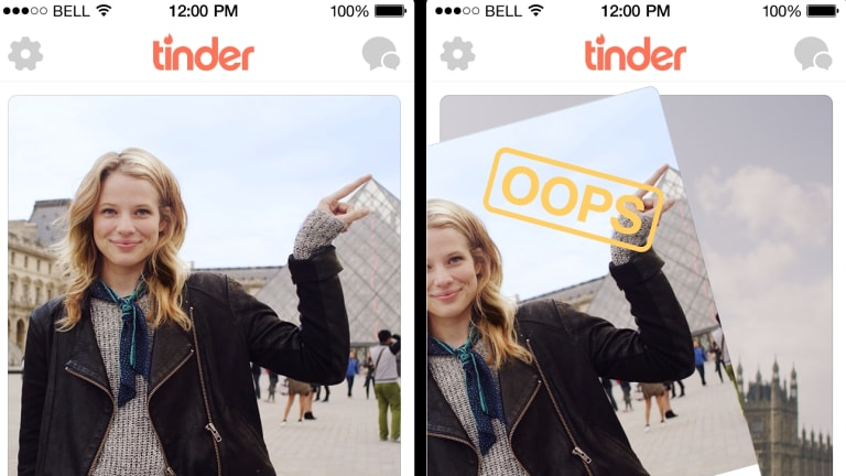 "The new Tinder Plus feature will allow users to retract ""swipes""."