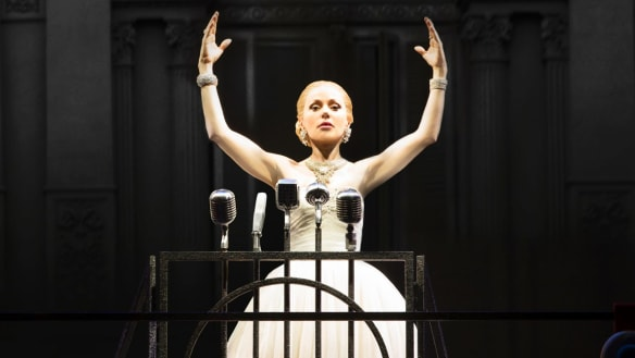 Evita review: Don't cry for Tina Arena's timely Eva