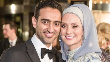 Susan Carland and Waleed Aly.