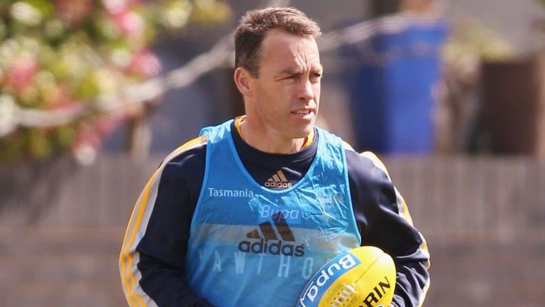 Overlooked: Hawthorn coach Alastair Clarkson.