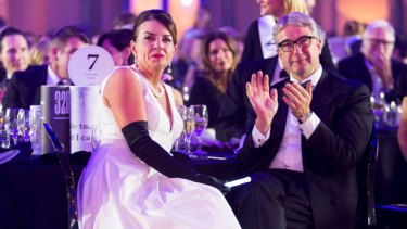 PS: Wedding bells ring for banking boss Anna Bligh