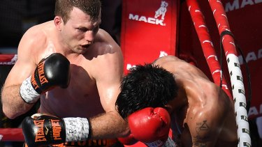Winner all over again: Jeff Horn defeated Manny Pacquiao both in the ring and on a reappraisal of the match by anonymous judges.
