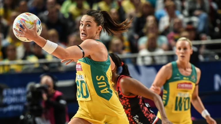 Sharni Layton is back in the Diamonds' squad.