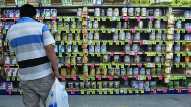 Hundreds of imported brands flooded the market following China's 2008 infant formula scandal.