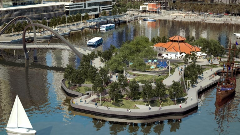 The final projected product of Elizabeth Quay looks great - but right now traders say it's a nightmare.