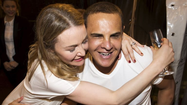 Rochelle Collis and Babak Moini celebrated their engagement with a $1 million donation to charity.