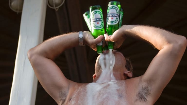 Dutch courage? Men are more prone to risk-taking behaviour.