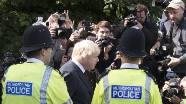 Boris Johnson, former mayor of London, led the campaign for the UK to leave the European Union.