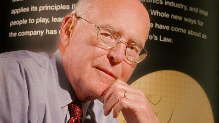 Intel co-founder Gordon Moore.