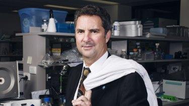Under fire: Dr Larry Marshall, Chief Executive of CSIRO.