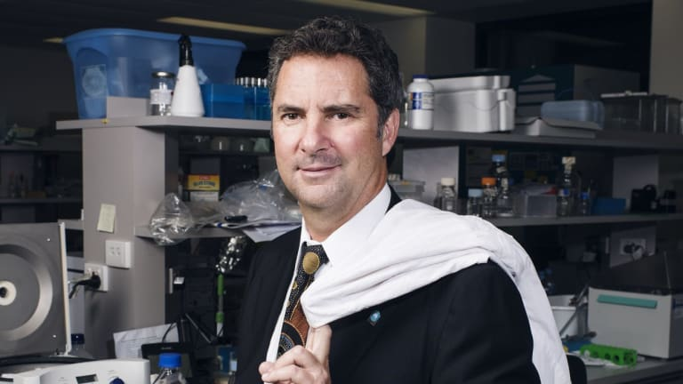 Under fire: Dr Larry Marshall, Chief Executive of CSIRO.