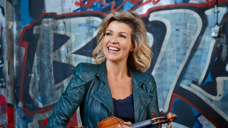 Keeping it fresh: Celebrated violinist Anne-Sophie Mutter.