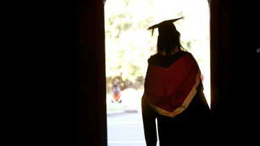 Graduates, dropouts and slow finishers. New research shows that disadvantaged students are more likely to drop out of university.