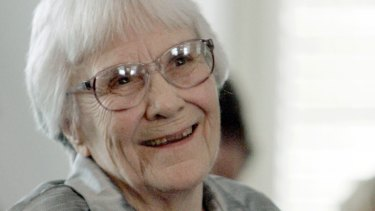 Author Harper Lee, author of To Kill A Mockingbird, pictured in 2007.