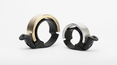 """Knog's """"Oi"""" bike bell was funded using Kickstarter and the campaign has raised more than $1 million."""