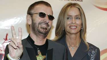 Former Beatle Ringo Starr and his wife, actress Barbara Bach, in 2006. The couple have been together 37 years.