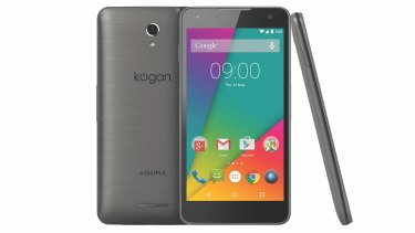 Kogan's new $299 flagship: the Agora 4G Pro.