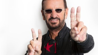 Ringo Starr has worked with famous friends on his new album.
