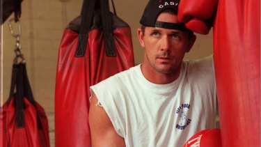 Adam Watt, pictured here in 1997, was left clinically dead after the attack.
