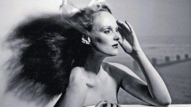 Grace Coddington in 1974, back when she was a model.