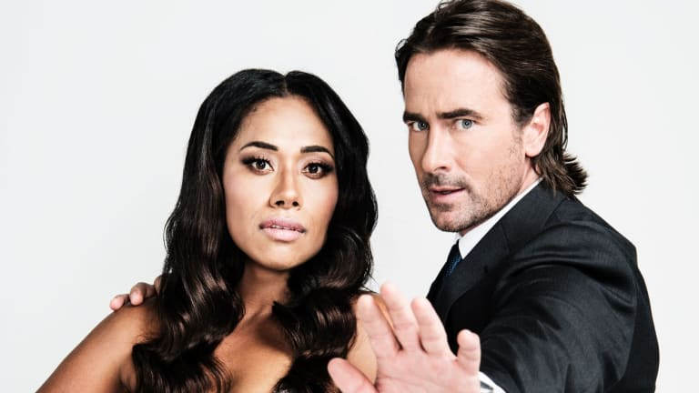 Paulini and Kit Gamblin reprise the roles made famous by Whitney Houston and Kevin Costner in the film version of The Bodyguard.