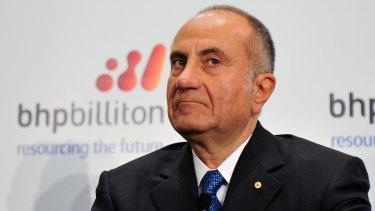 BHP chairman Jac Nasser.