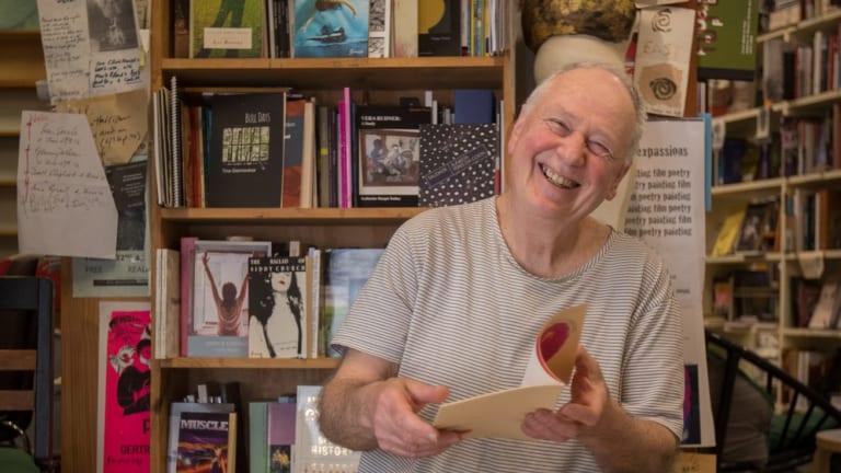 Kris Hemensley, owner of  Collected Works , a shop specialising in poetry.